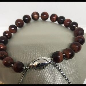 🌼DAVID YURMAN Spiritual bracelet Beads Tiger eyes